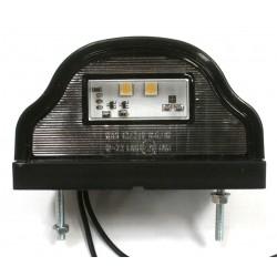 Eclaireur de plaque à Leds  12 / 24 volts