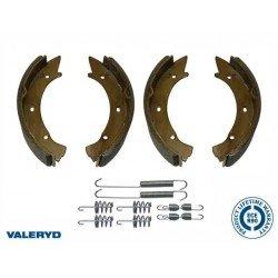 Mâchoires de freins 200 x 50 pour essieux WAP / HUMBAUR