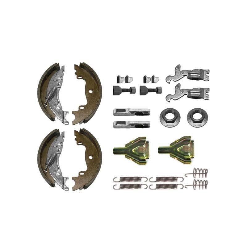 Machoires de freins pour KNOTT 160 x 35  kit complet