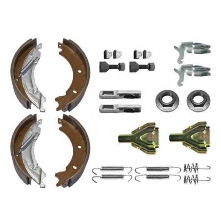 Machoires de freins pour KNOTT 20-2425   200 x 50  kit complet