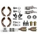 Machoires de freins BPW 200 x 50  2005-7 RASK   kit complet
