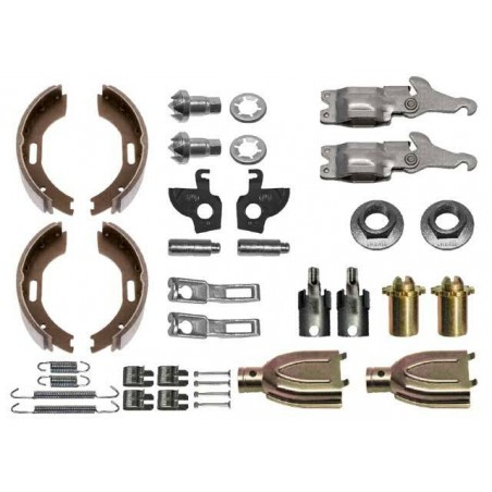 Mâchoires de freins BPW 200 x 50  2005-7 RASK   kit complet