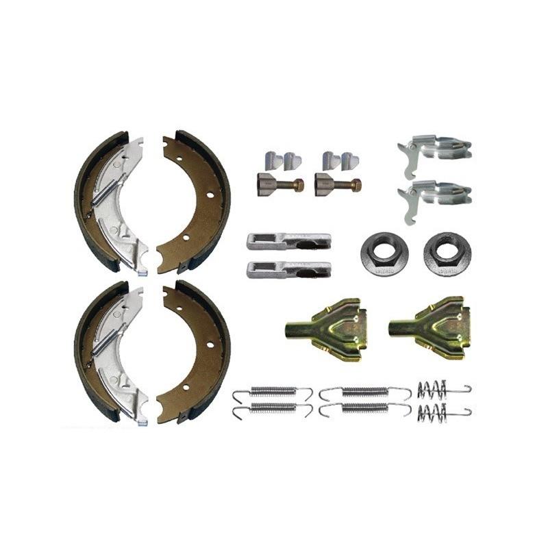 Mâchoires de freins pour KNOTT 25-2025 BPW S 2504-5 KIT complet