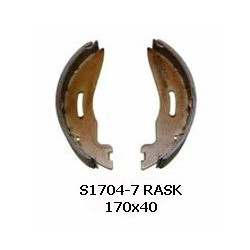 Machoires de freins BPW S 1704-7 RASK
