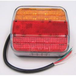 Feu à LED 4 fonctions 12/24...