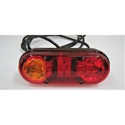 Feu à LED + ampoules 4...