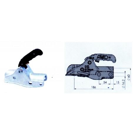 Tête AK 351 D 60 fixation M16 horizontal