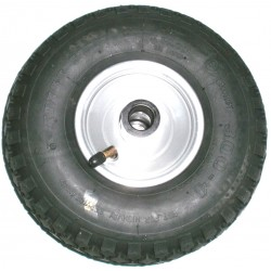 Galet de roue jockey gonflable diam 260