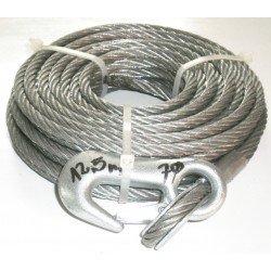 Câble pour treuil 12.5m x 7mm