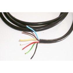 Câble électrique 7 x 0.75