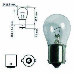 Ampoule poirette 21w  12V