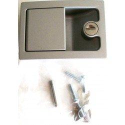 Serrure aluminium pour van et remorque