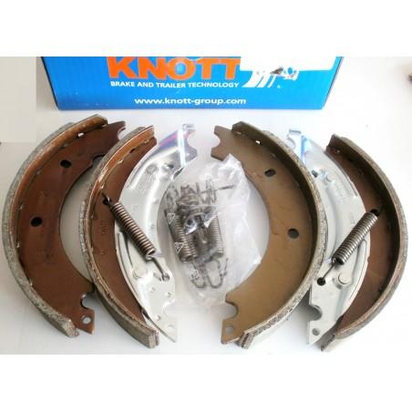 Mâchoires de freins pour KNOTT 20-963     200 x 30