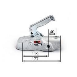Tête EM350R  3500 kg D 50  boulons M 12