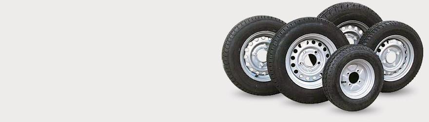 Roues pour : remorques, camping car, vans et caravanes. Pieces détachées sur pieces-accessoires-remorques.com